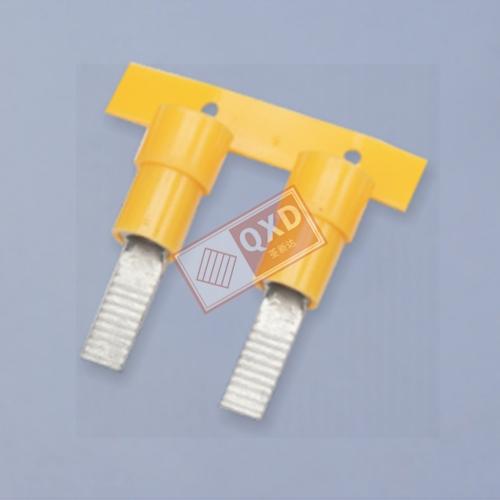PVC绝缘护套片形端子